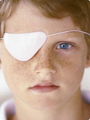 ojo flojo en niños