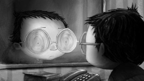 Cuatro ojos, un corto de Jean-Claude Rozec