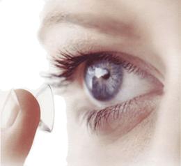 uso de las lentes de contacto
