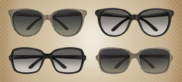 gafas brillantes de Gucci