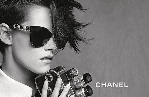 Kristen Stewart con gafas Chanel